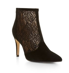 BCBG Lace Booties